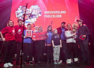 Nordhordland padleklubb har mottatt 100 000 kroner fra Sparebanken Vest, til et helt spesielt prosjekt.