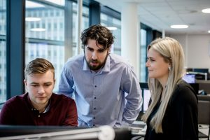Gode rådgivere er lett tilgjengelig også for kunder på ferie. (Foto: Tove Lise Mossestad)