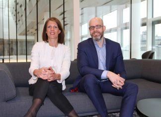 Ragnhild Janbu Fresvik og Svein Ove Kvalsund understreker at Buffer skal være for alle uansett bank.