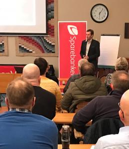 Stig Morten Nerheim, kunderådgivar på Sand