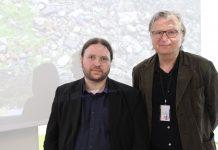 Tarjei Leer-Salvesen fra Fædrelandsvennen og Per Christian Magnus fra Senter for undersøkende journalistikk.