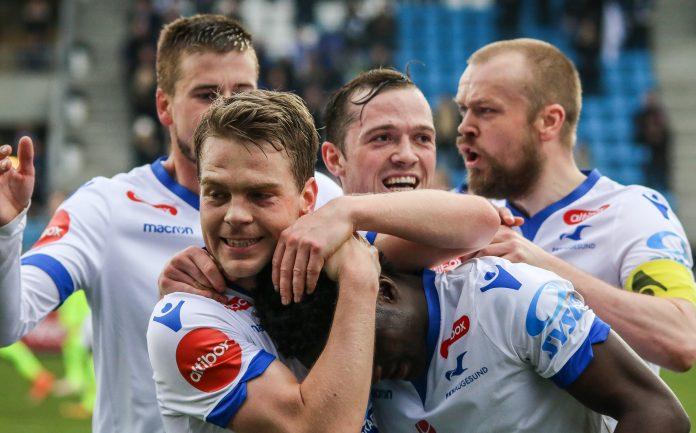 FK Haugesund har seks lokale spillere i startelveren. Det er Norges beste statistikk for å ta vare på og benytte lokale spillere.