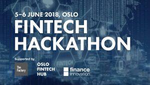 Sparebanken Vest var med til Oslo for å arrangere innovasjonskonkurranse sammen med Finance Innovation, Oslo Fintech Hub og The Factory.