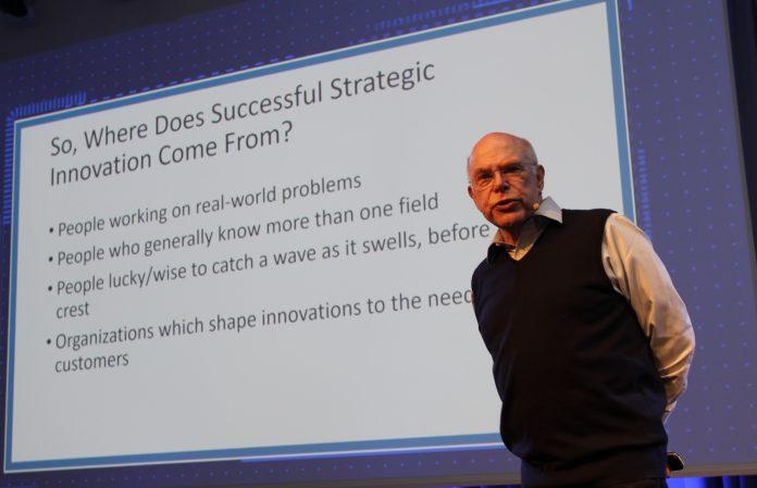 Et av hovedpoengene til Richard Rumelt er at strategi først og fremst handler om å formulere hvordan du møter din bedrifts essensielle utfordringer. (Foto: Sparebanken Vest)
