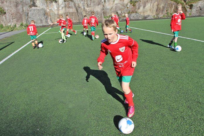 Vanligvis er det nærmere 300 deltakere fra Loddefjord IL på Voss Cup. (Foto: Sparebanken Vest)
