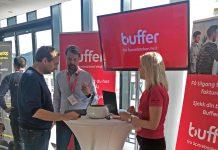 Buffer på stand under PowerForum
