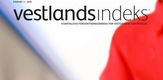 Faksimile forside Vestlandsindeks 3/2018 (Foto: Colourbox)