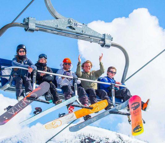 Fem personer i skiheis i Myrkdalen.