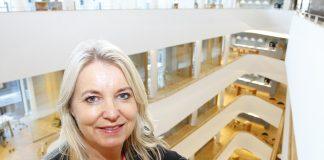 Bjørg Marit Eknes, konserndirektør for innovasjon og utvikling i Sparebanken Vest.