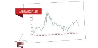Januarsalg i aksjemarkedet: Den litt sjeldne kombinasjonen av bedre inntjening i bedriftene og fallende aksjekurser har blant annet ført til at aksjer i USA er blitt cirka 20 prosent billigere det siste året.