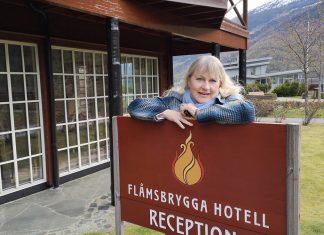 Aud Melås, degleg leiar for Flåmsbrygga hotell