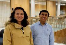Sparebanken Vest-kundene Tuny Aung Kyaw og Moe Hlaing Tin